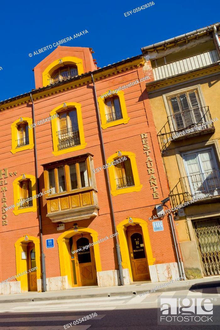 Imagen: Tipycal Architecture, Old Town, El Burgo de Osma, Soria, Castilla y León, Spain, Europe.