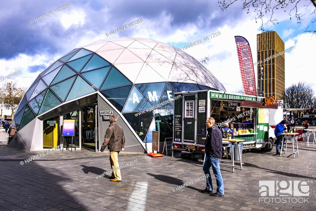 Stock Photo: America Today modern igloo in Eindhoven, The Netherlands, Europe.