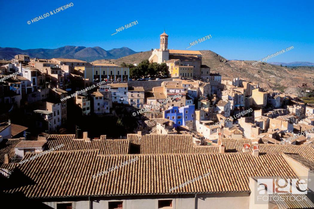 Stock Photo: Cehegin. Santa Maria Magdalena church, XV-XVIth century. Murcia province.