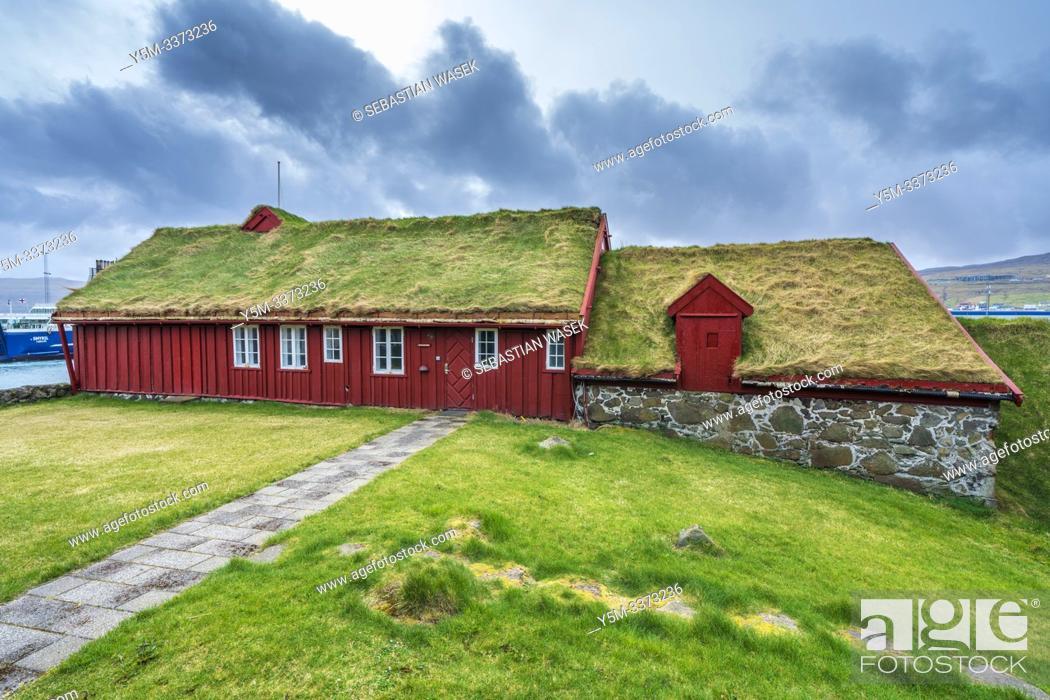 Stock Photo: Tinganes, Tórshavn old town, Streymoy, Faroe Islands, Denmark, Europe.