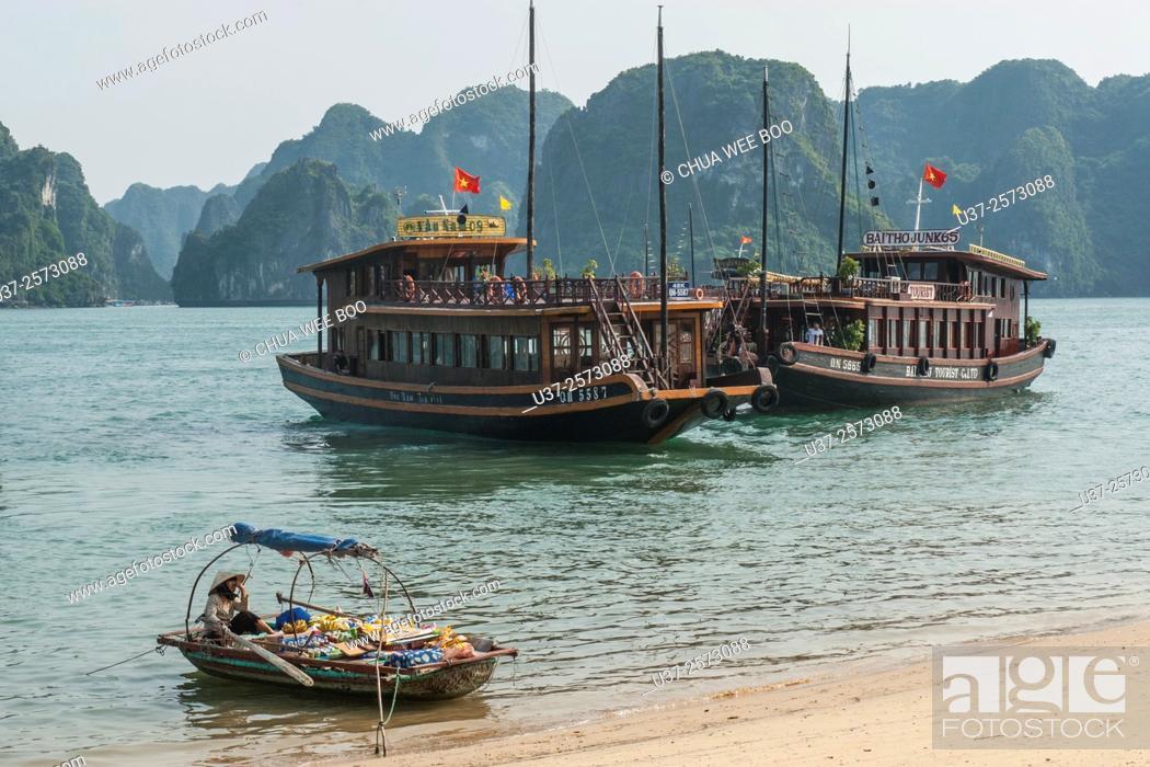 Stock Photo: Ha Long Bay, Vietnam.