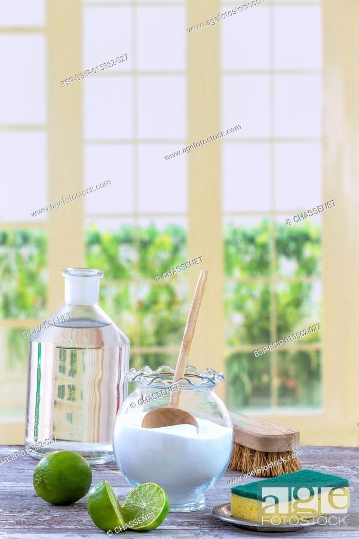 Stock Photo: Sodium bicarbonate.