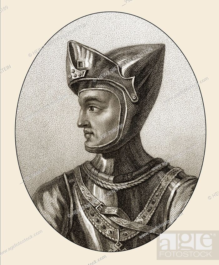 Stock Photo: Henry of Grosmont, 1st Duke of Lancaster, 4th Earl of Leicester and Lancaster, c. 1310-1361.