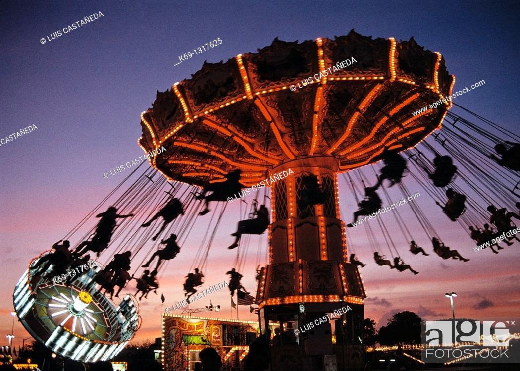 Stock Photo: Amusement Park, Tampa, Florida, USA.