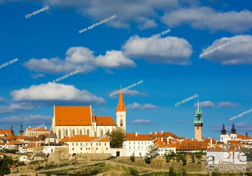 Stock Photo: Znojmo, Czech Republic.