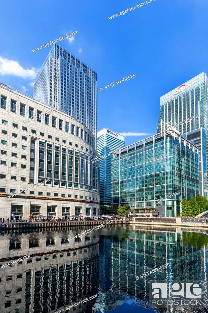 Thomson Reuters News Agency Headquarters, Canary Wharf Tower