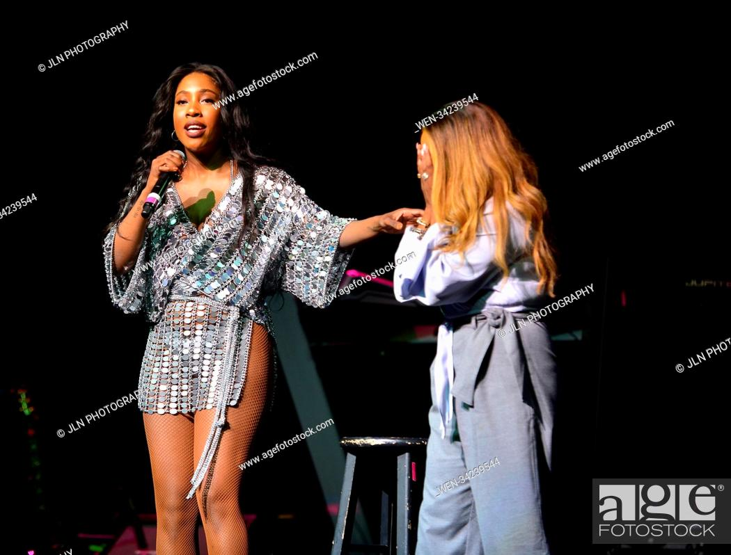 Stock Photo: Patti Labelle in concert onstage during the 5th Annual Mothers Day Experience at James L. Knight Center on May 13, 2018 in Miami, Florida.