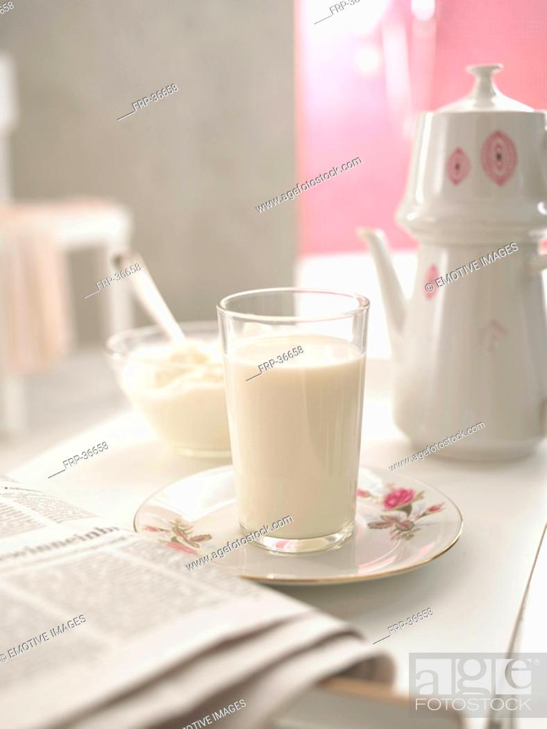 Stock Photo: coffee set.