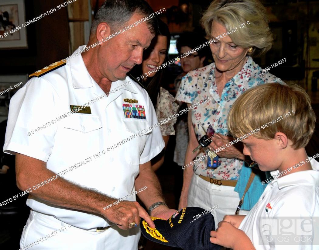 LOS ANGELES July 28, 2011 Rear Adm Alton Stocks, commander of Navy