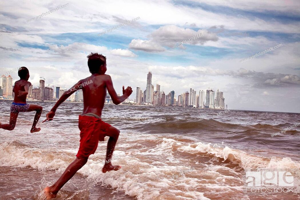 Stock Photo: Panama bay.
