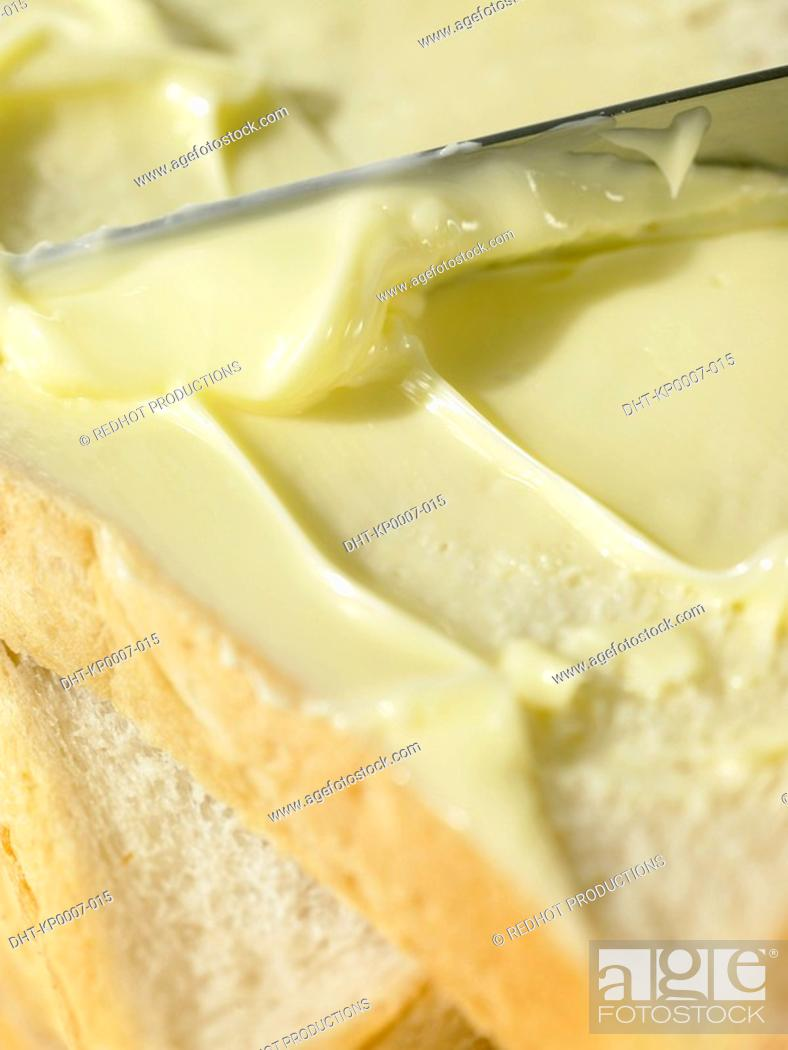 Stock Photo: Food - Bread and Butter.