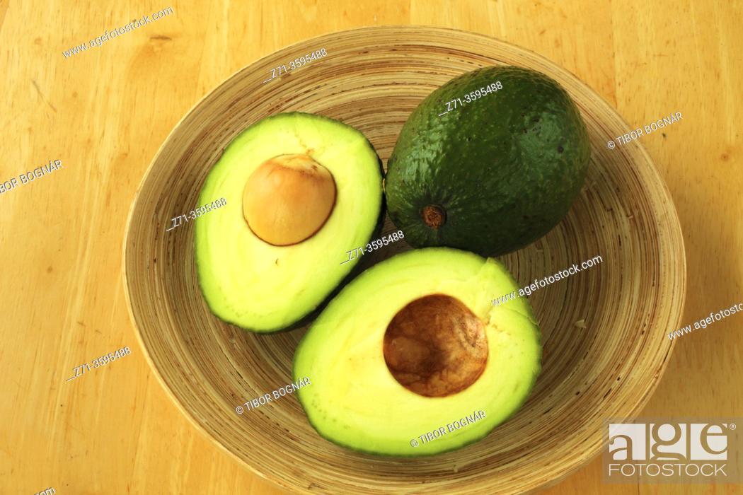 Stock Photo: Avocado, fruit, .