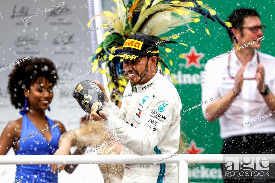 Stock Photo: November 11, 2018 - Sao Paulo, Brazil - Motorsports: FIA Formula One World Championship 2018, Grand Prix of Brazil World Championship;2018;Grand Prix;Brazil.