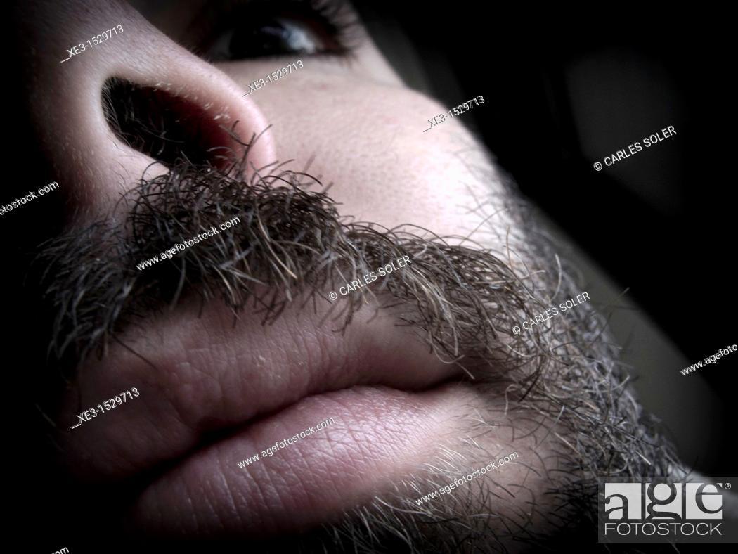 Stock Photo: Close-up portrait.