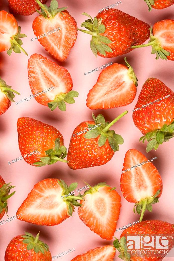 Stock Photo: Strawberries.