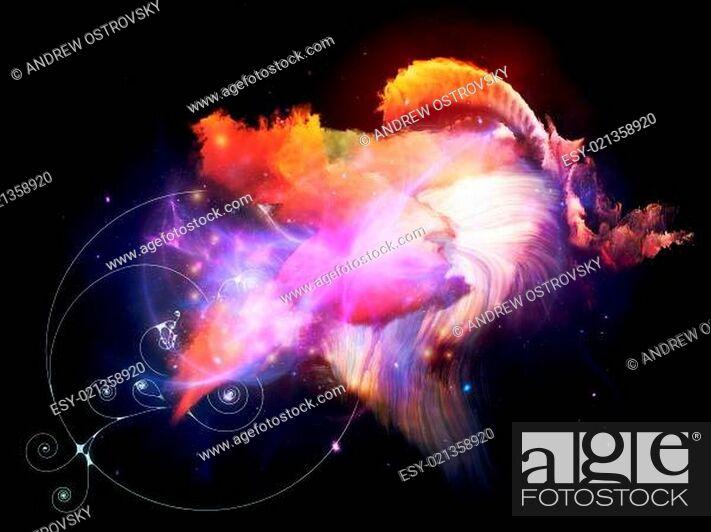 Photo de stock: Voyages to Design Nebulae.