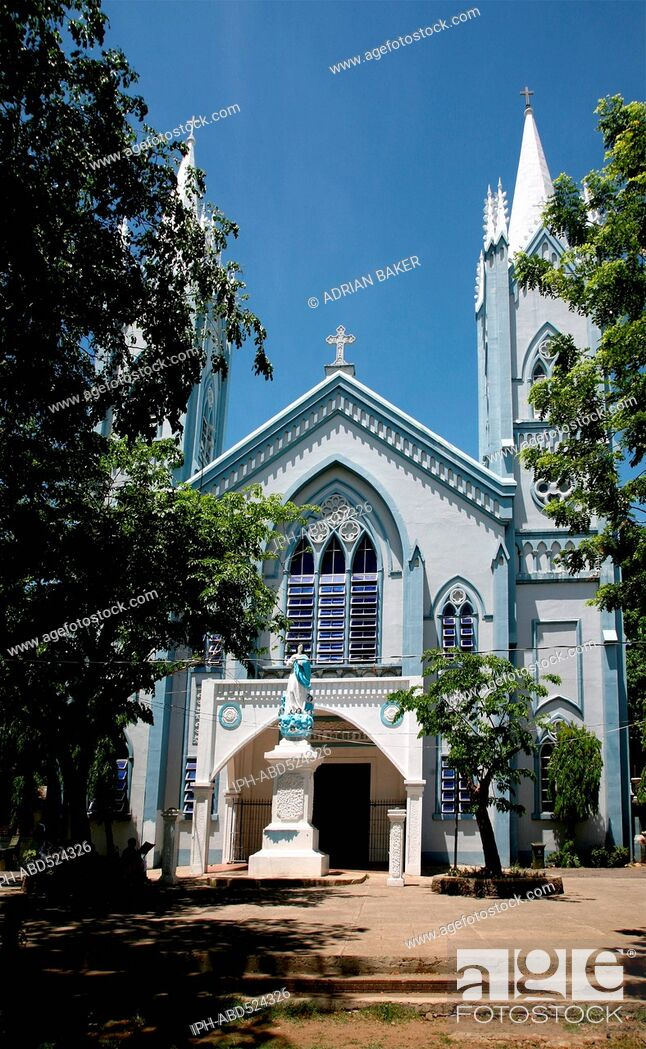 Imagen: Philippines Palawan Puerto Princesa The cathedral.