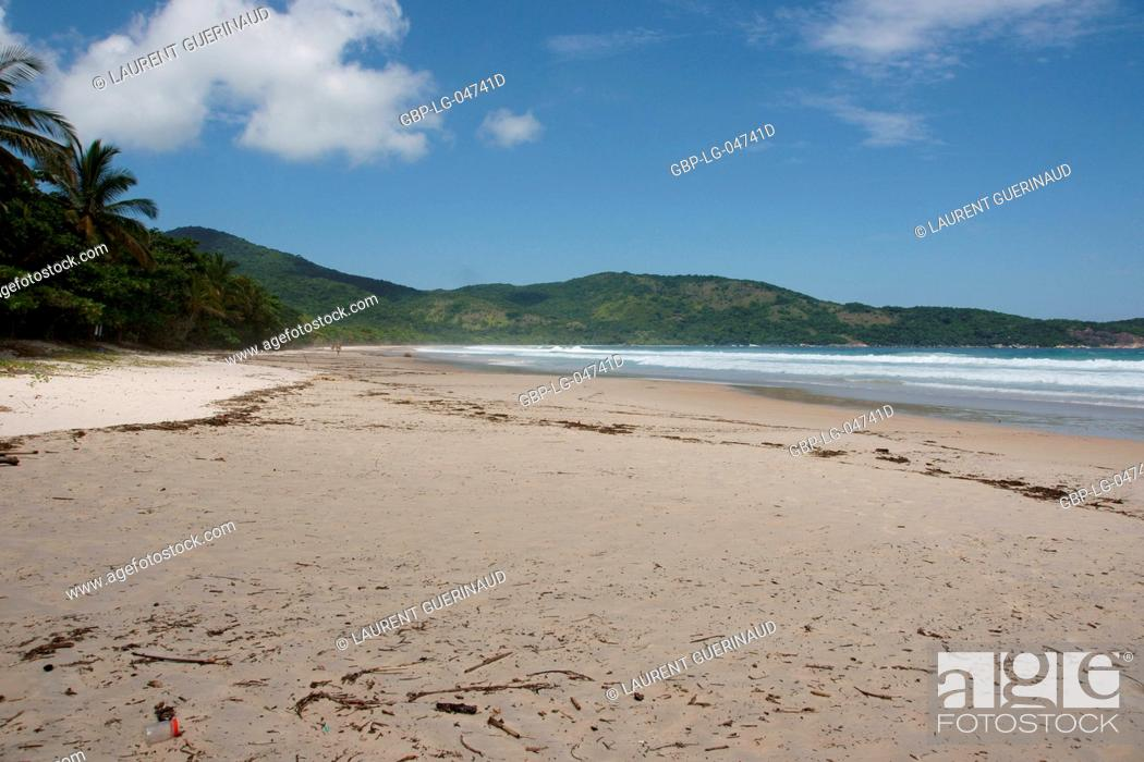Stock Photo: Landscape, Nature, Ilha Grande, Rio de Janeiro, Brazil.