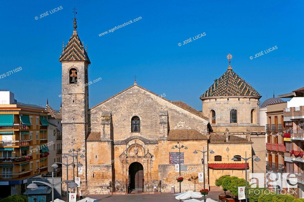 Stock Photo: Parish church of San Mateo - 16th century, Lucena, Cordoba province, Region of Andalusia, Spain, Europe.