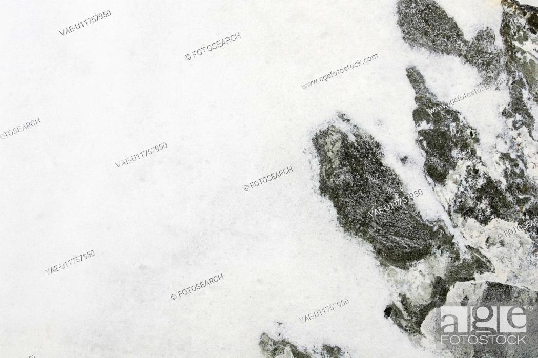 Stock Photo: Covering, Day, Frozen, Hillside.