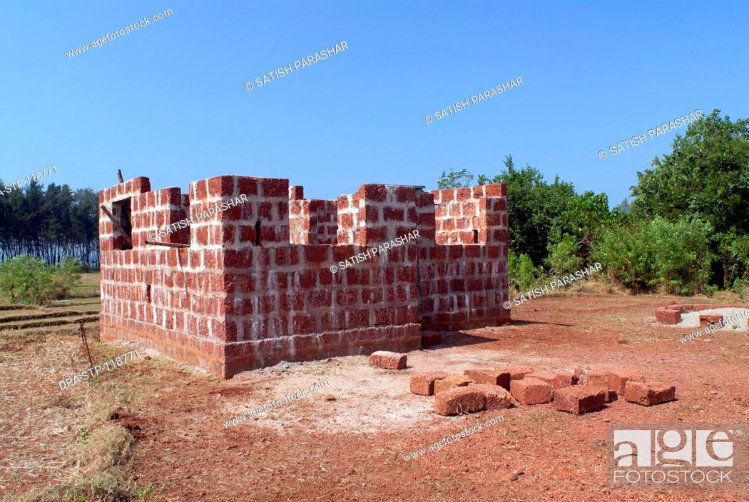 Construction of house in jambha stone from Konkan only village Nevra