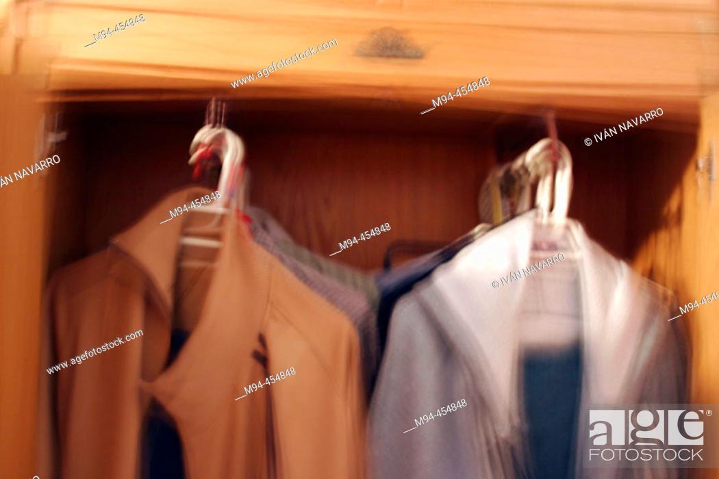 Stock Photo: Wardrobe.