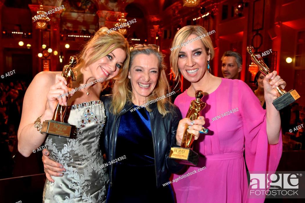 Austrian Film Award Romy At Hofburg In Vienna Featuring Hilde