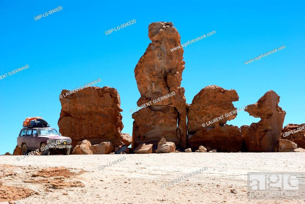 Stock Photo: Rock Forest, Desert of Lipez, Department of Potosi, Sud Lipez Province, La Paz, Bolívia.