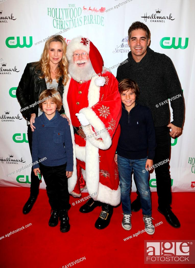 The Christmas Parade Hallmark.2015 Hollywood Christmas Parade Featuring Jenna Gering Galen