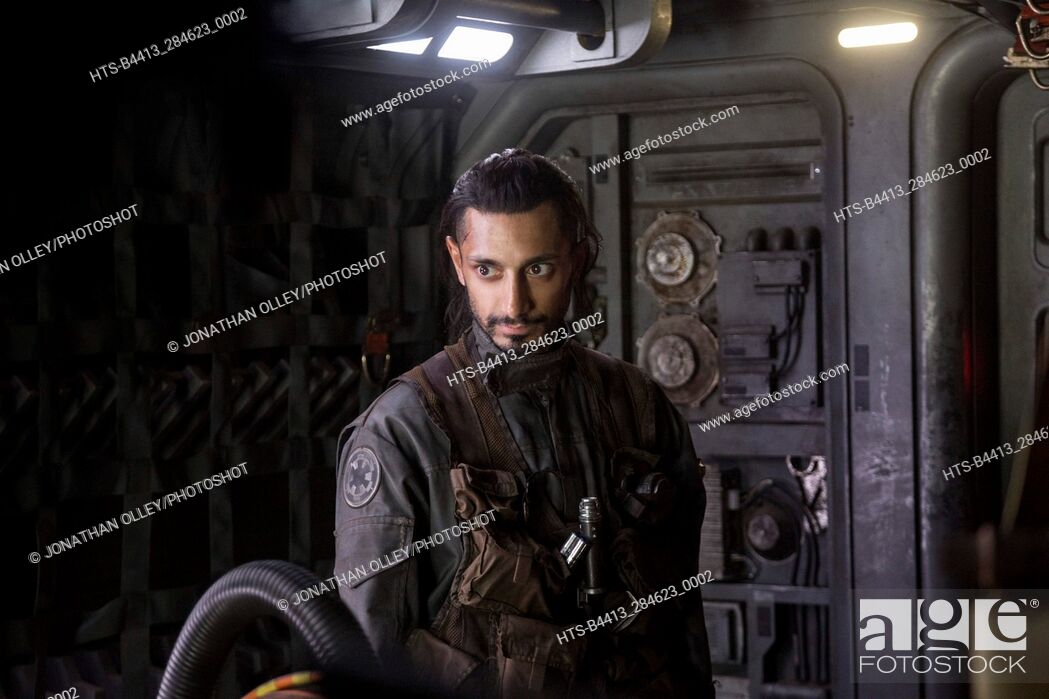 Stock Photo: Rogue One: A Star Wars Story. Bodhi Rook (Riz Ahmed).