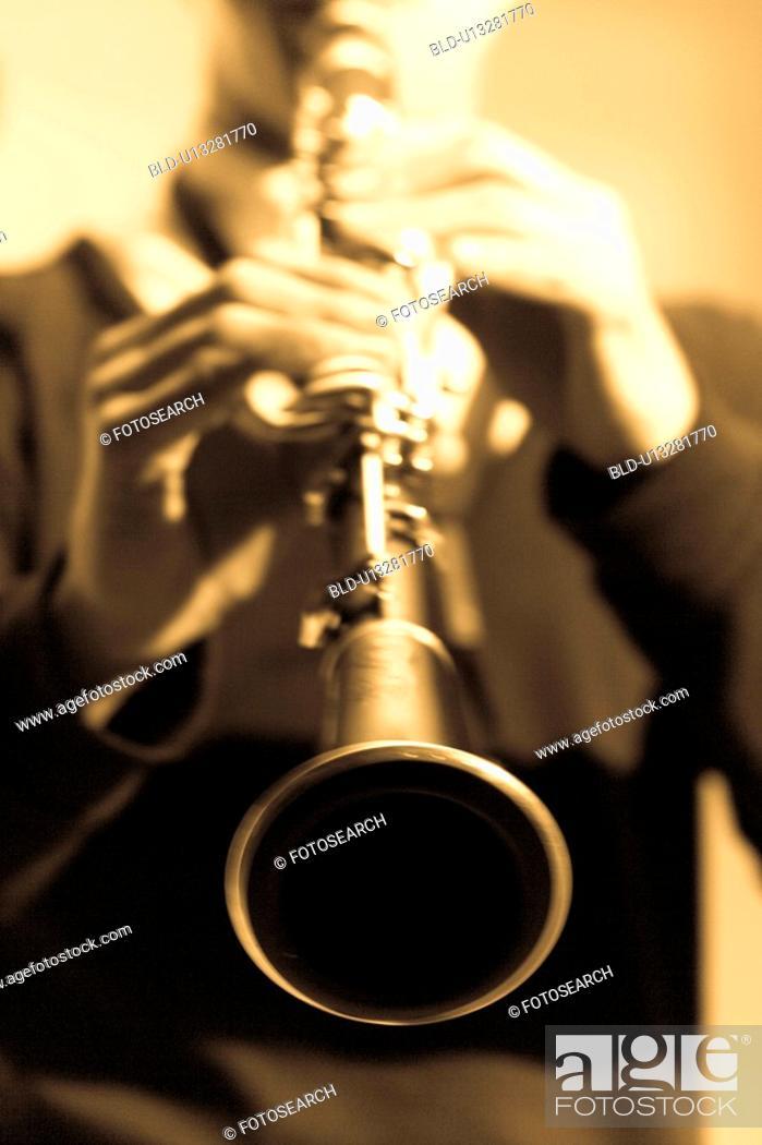 Stock Photo: Clarinet.