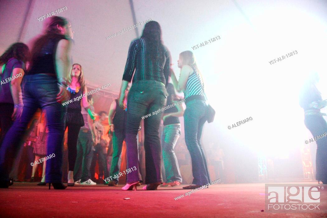 People, women, dance, nightclub, Brazil, Stock Photo