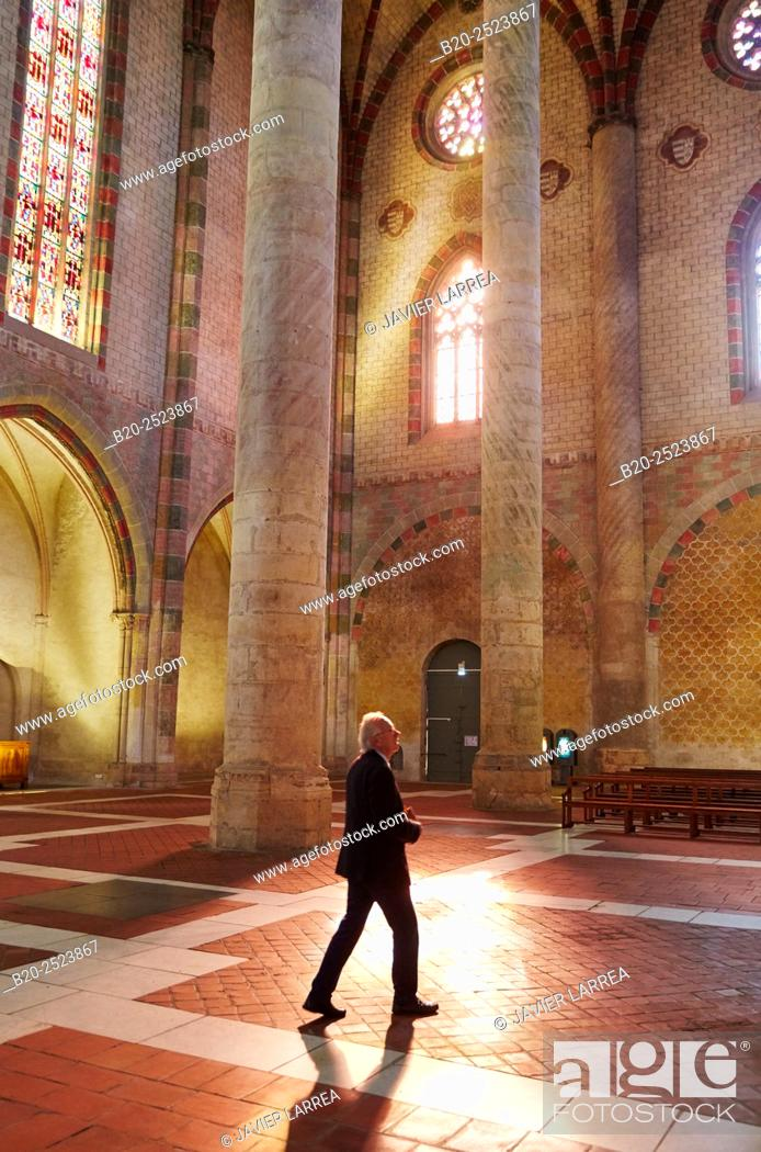 Stock Photo: Couvent des Jacobins. Toulouse. Haute Garonne. France.