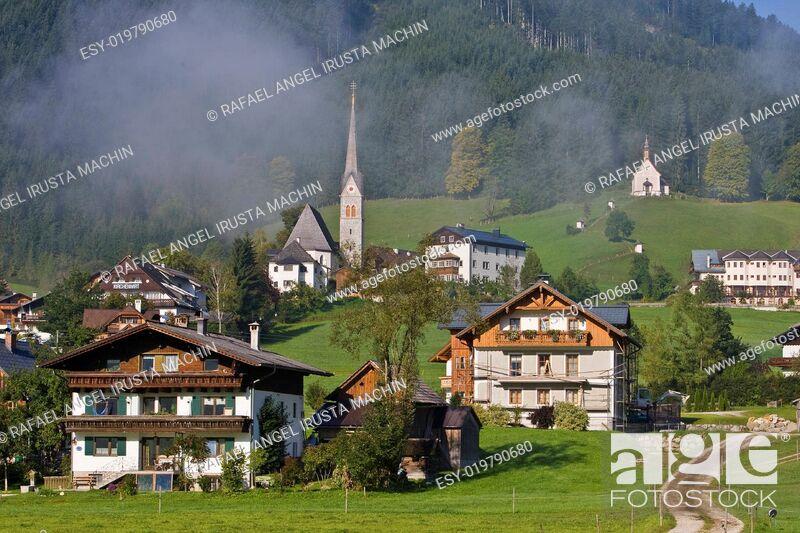 Stock Photo: Gosau, Austria.