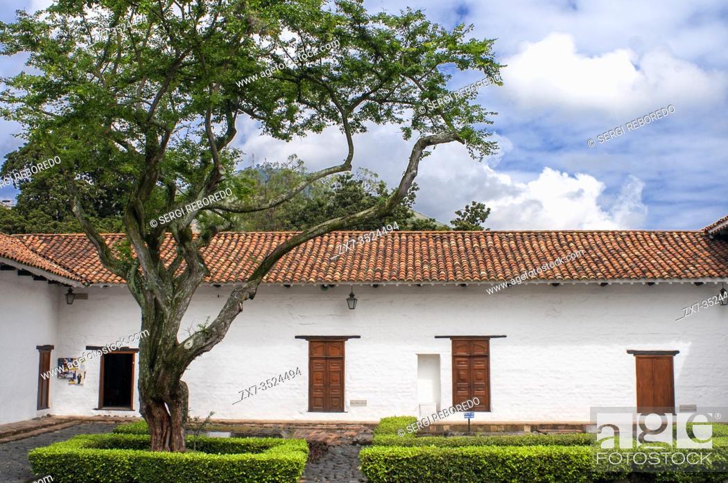 Stock Photo: Church of La Merced, oldest church in the town of Cali, Departamento Valle del Cauca, Colombia, Latin America, South America.