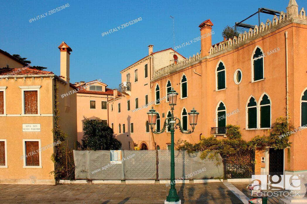 Imagen: Italy Venito Venice Architecture, Riva dei Sette Martiri.