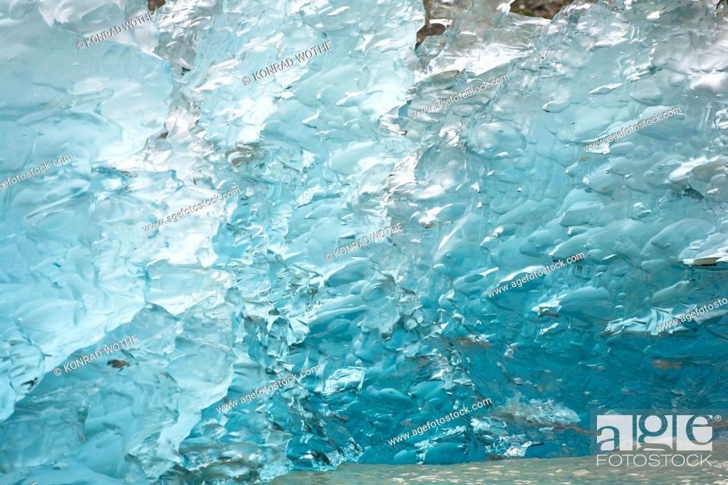 Stock Photo: iceberg in Endicott Arm, Inside Passage, Southeast Alaska, USA.