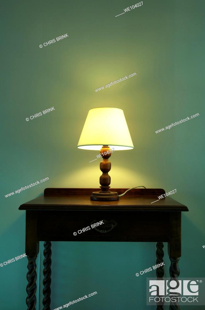 Stock Photo: Table light.