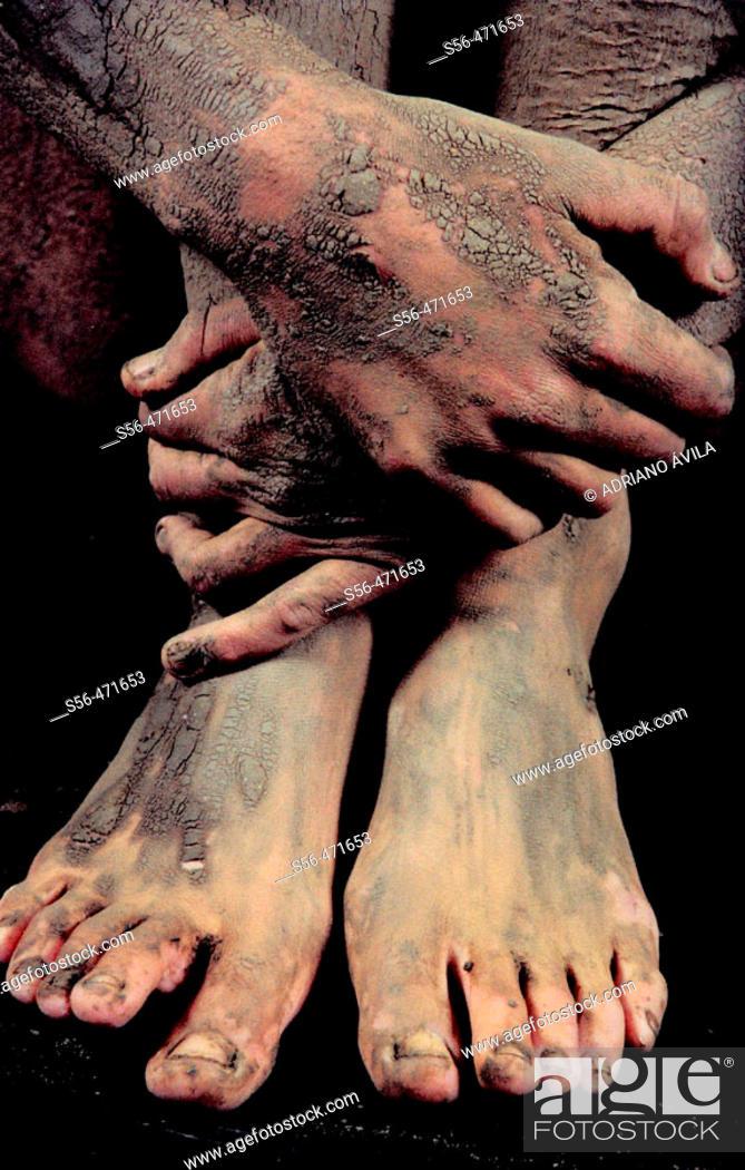 Stock Photo: Feet.