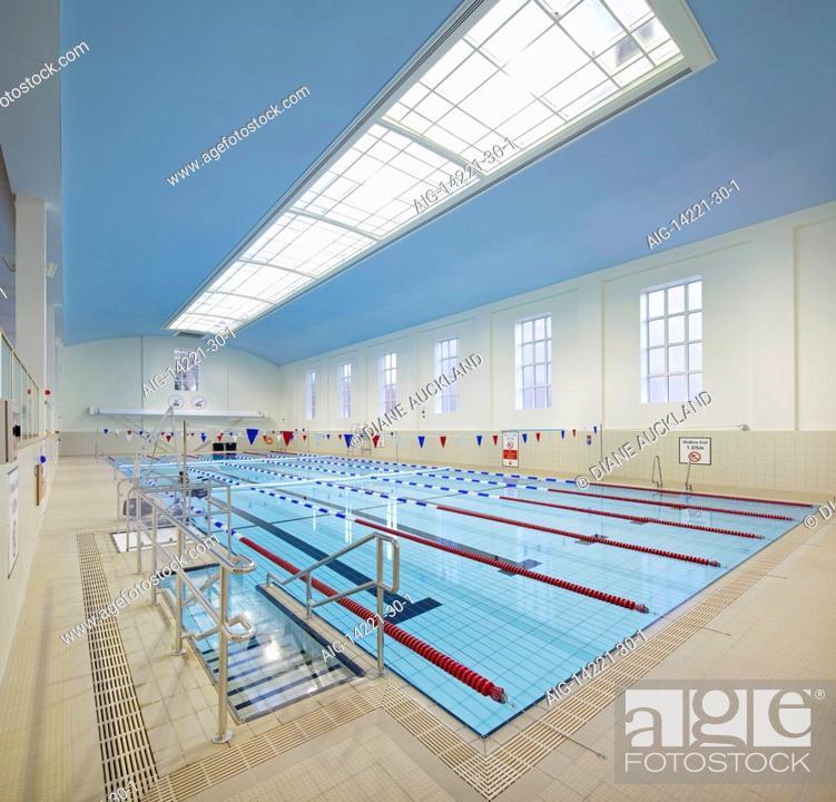 Swimming pool at Ironmonger Row Baths Refurbishment ...