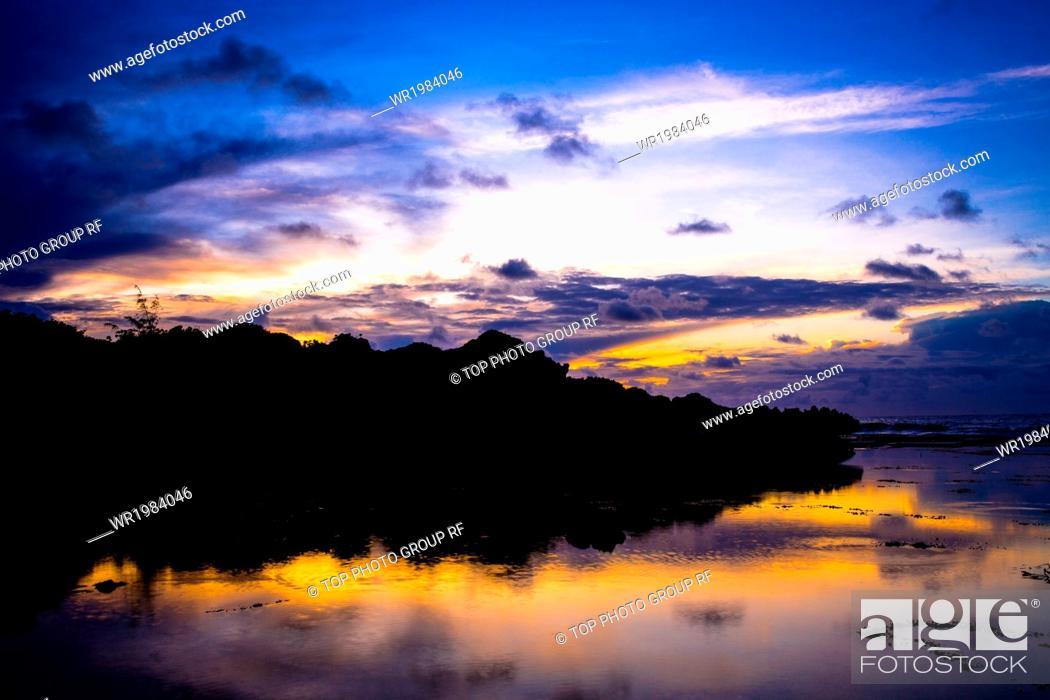 Imagen: Guam;sunset.