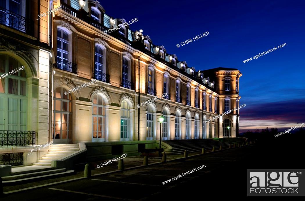 Stock Photo: Palais du Prado or Prado Palace Marseille Provence France.