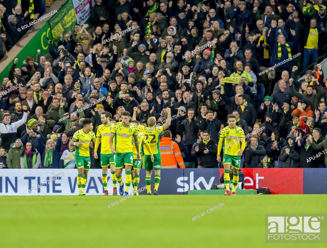 2019 EFL Championship Football Norwich City v Sheff Utd Jan