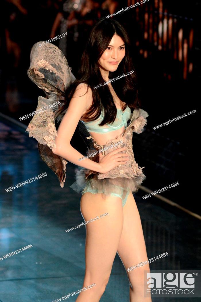 624da82033 Stock Photo - 2015 Victoria s Secret Fashion Show - Runway Featuring  Sui He  Where  New York