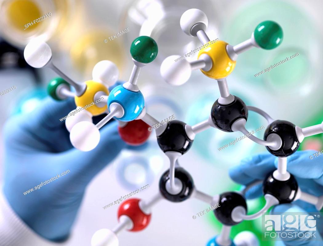 Stock Photo: Chemistry research.