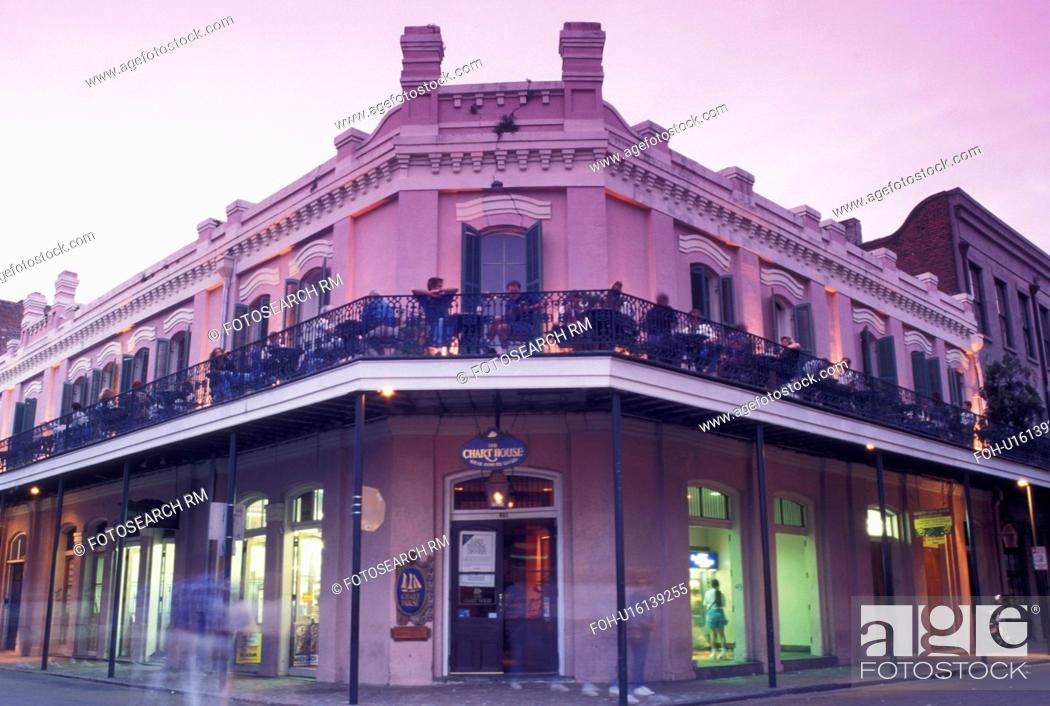 French quarter new orleans la louisiana the chart house stock
