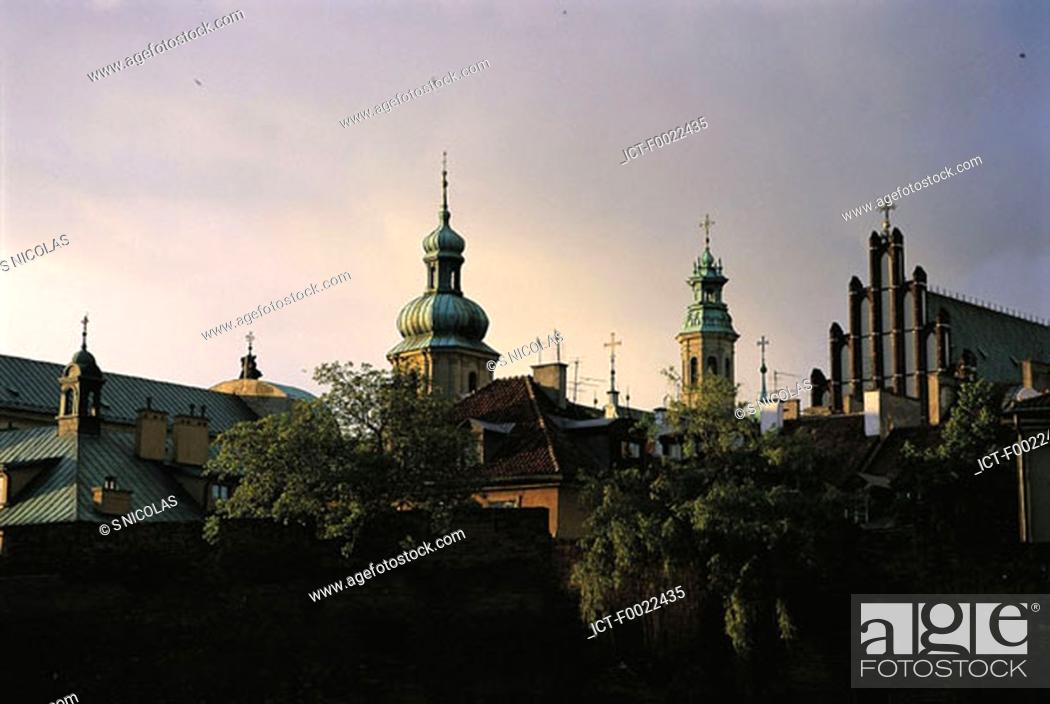 Stock Photo: Poland, Warsaw, old city.