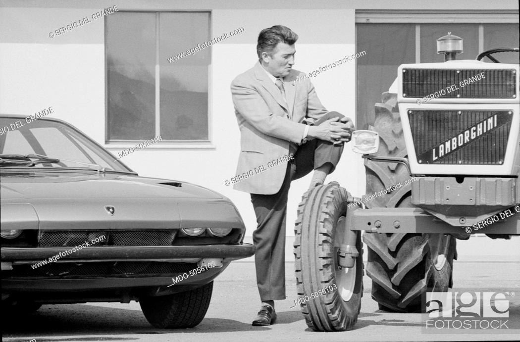 Italian Entrepreneur And Founder Of The Car Company Bearing His Own