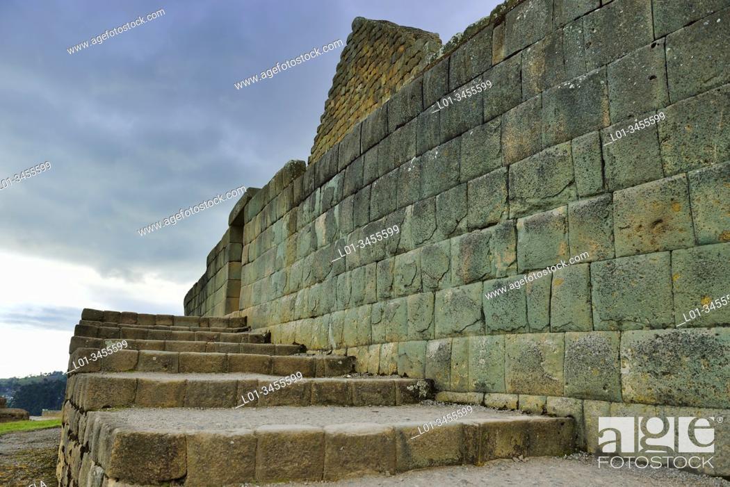 Stock Photo: Ingapirca Archaeological Complex, Cañar, Ecuador.