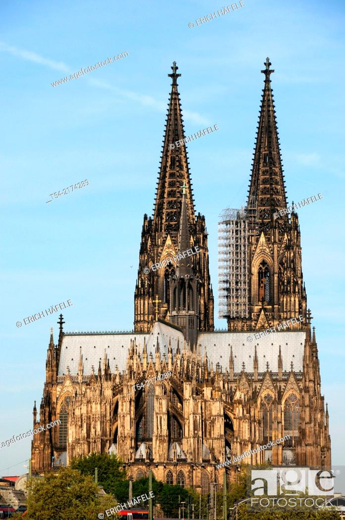 Stock Photo: The Cologne Cathedral.